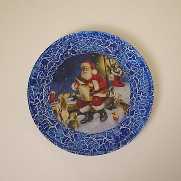 prato natal azul