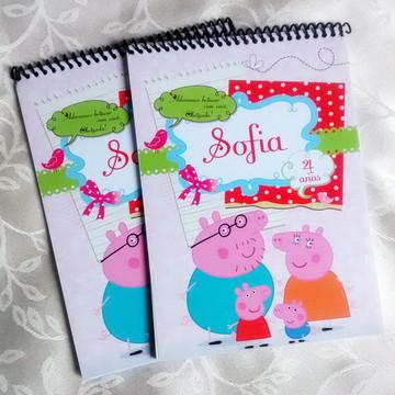 Caderninho de Pintura Peppa