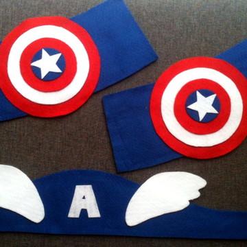 Kit Acessórios Super Heróis