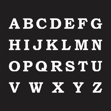 Letras em MDF - Mod. 02 - Pintadas