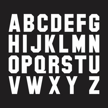 Letras em MDF - Mod. 03 - Pintadas