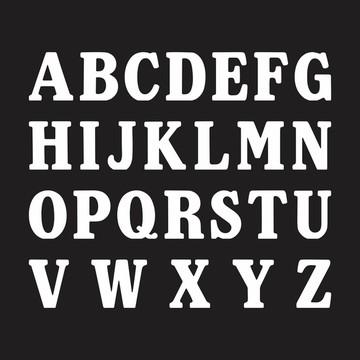 Letras em MDF - Mod. 04 - Pintadas