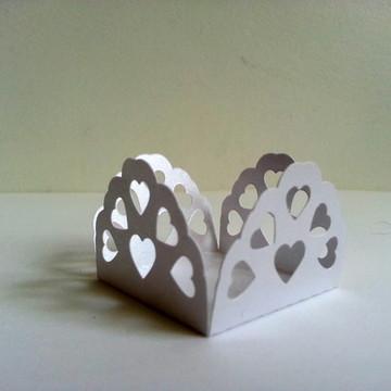 Forminha de Casamento - Corações