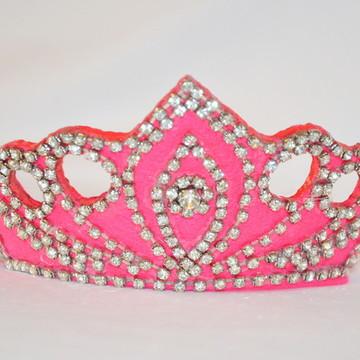 Coroa de princesa Pink