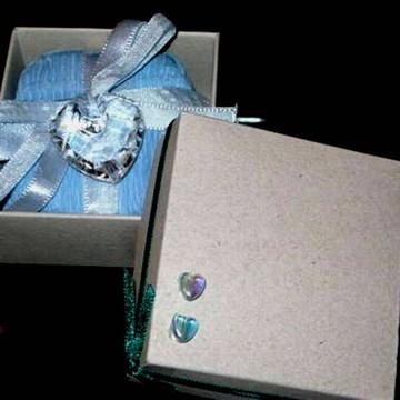 Caixa artesanal para Bem casados