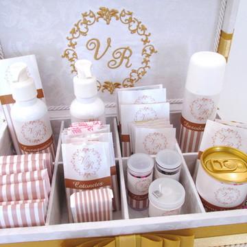 Caixa Kit Banheiro para casamento