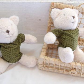 Ursinhos Bege e Verde
