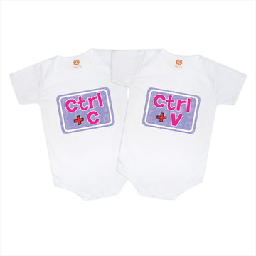 Kit Bodys Ctrl+C e Ctrl+V Menina