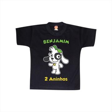 Camiseta de Aniversário Doki