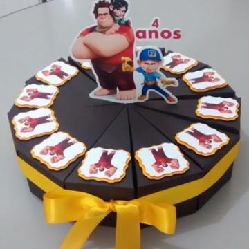 Caixinhas Fatia de bolo
