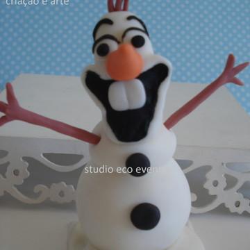 Enfeite boneco de neve Olaf da Frozen