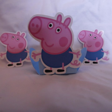 Forminha de doces George Pig