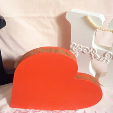 kit letras decoradas para casamento