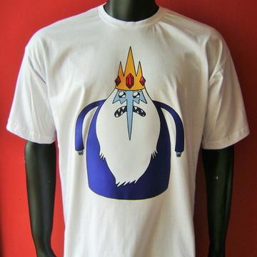 Camiseta Rei Gelado - Hora de Aventura