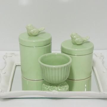 Kit Provençal Verde Bebê
