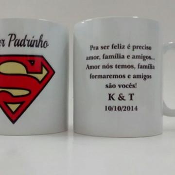 Caneca Super Padrinho