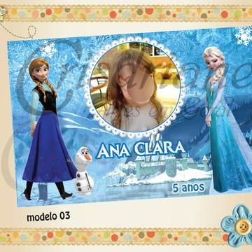 Lembrancinha Imã Frozen