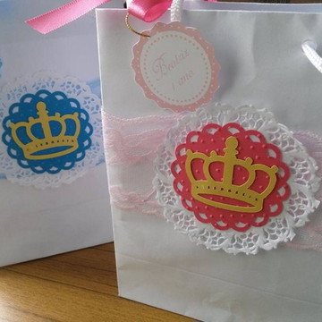 Sacola papel personalizada Princesas