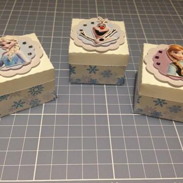 Caixa Porta Doces Frozen