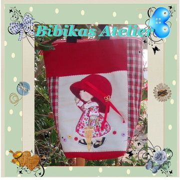 bolsa menina com guarda chuva