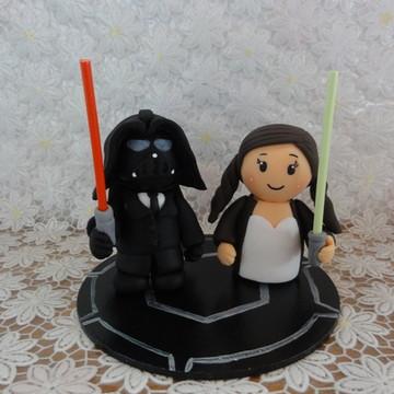 Noivinhos Darth Vader e Padme Amidala