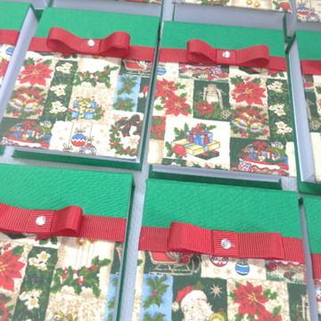 Bloquinhos de anotações Natal