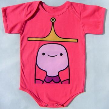 Body P/ Bebê Princesa Jujuba