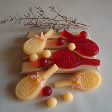 Sabonete-Raquetes tênis-Ele Ela