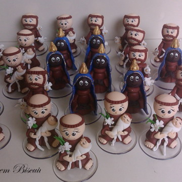 Santinhos miniaturas