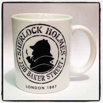 Caneca Sherlock Holmes II
