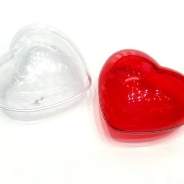 Coração de acrilico