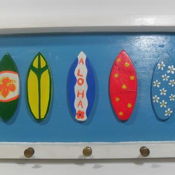 Porta chaves pranchas de surf