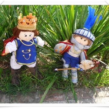 Rei Arthur e cavaleiro