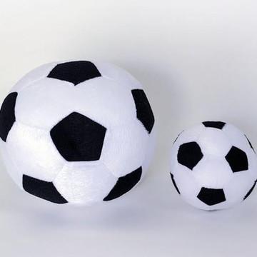 Bolas de futebol de pelúcia (2 peças).