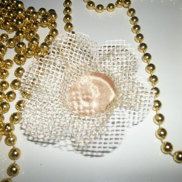 Forma de doces finos em tecido de tela