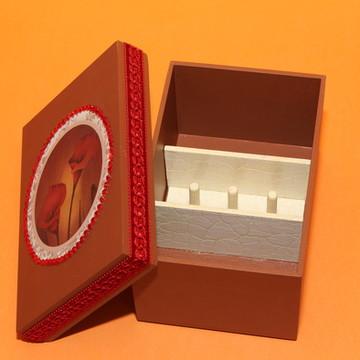 Caixa de mdf para costura mini