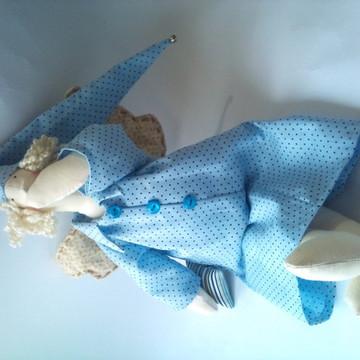 tilda anjo decoração de bebe