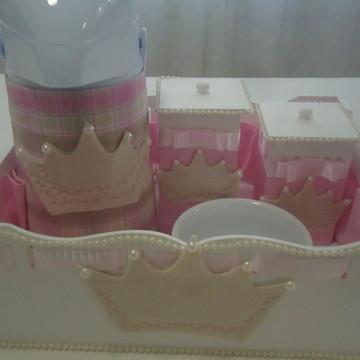 Kit Higiene Bebê Coroa
