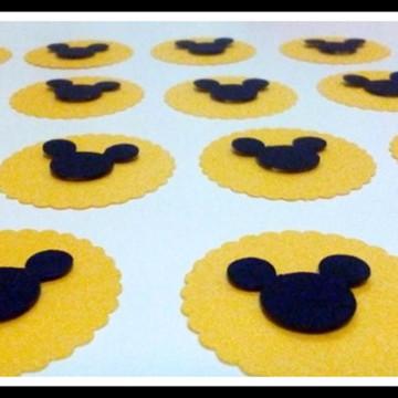 Tags Personalizados Tema Mickey