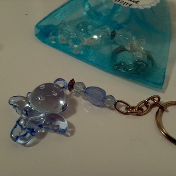 Chaveiro Anjinho Azul