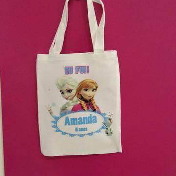 Eco bag personalizada frozen