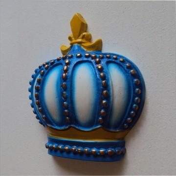 Coroa em resina colorida (peça parede)