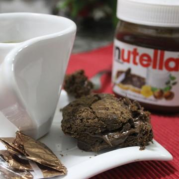 +Brownies Recheado Nutella com (Unidade)