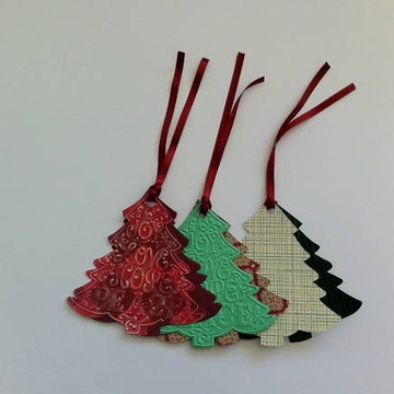 Cartão arvore de Natal / tag