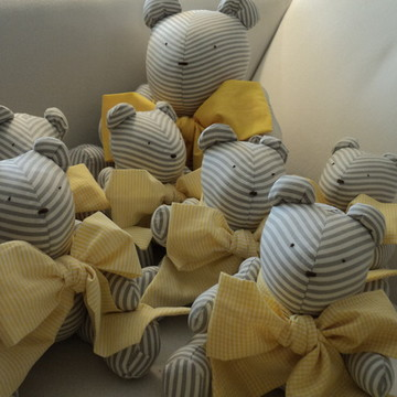 Ursos - decoração Chá de bebê