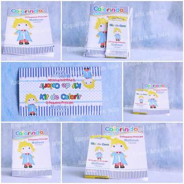 kit Colorir 1: O Pequeno Príncipe