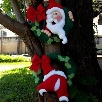 Guirlanda dupla Papai Noel