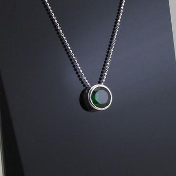 Ponto de luz verde, 8 mm