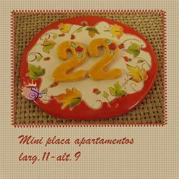 placa para apartamento