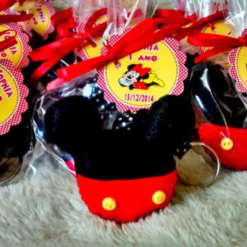 Chaveiros ou Ímãs Do Mickey e Minnie